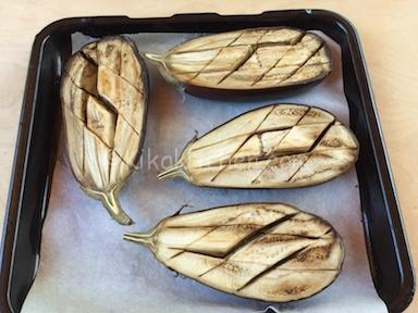 melanzane cotte al forno