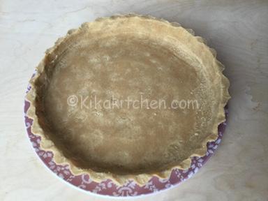 base crostata con biscotti