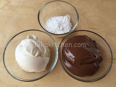 ingredienti crema mascarpone e nutella