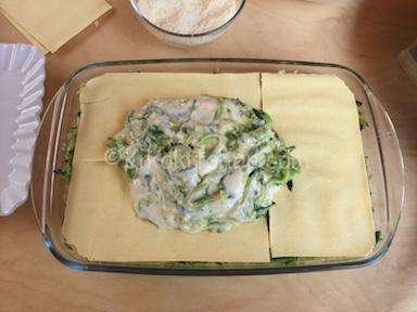 lasagne besciamella e zucchine