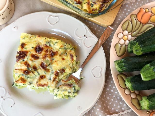 lasagne zucchine e besciamella