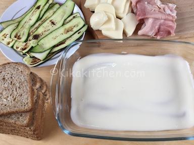 lasagne con pancarrè