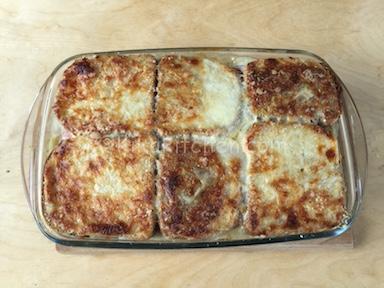 sformato di pancarrè con zucchine e prosciutto