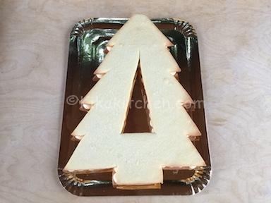 assemblare cream tart albero