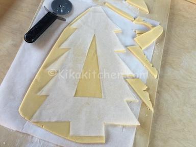 ritagliare pasta frolla