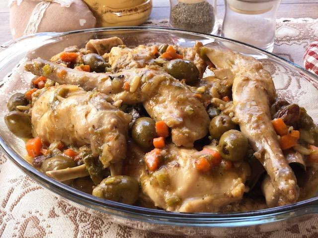 coniglio olive e capperi