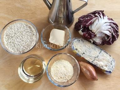 ingredienti risotto radicchio e gorgonzola