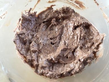 crema rocher con wafer